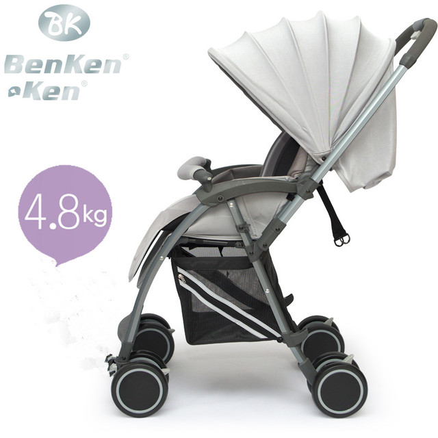 benken baby stroller shock absorbers two-way folding light pram