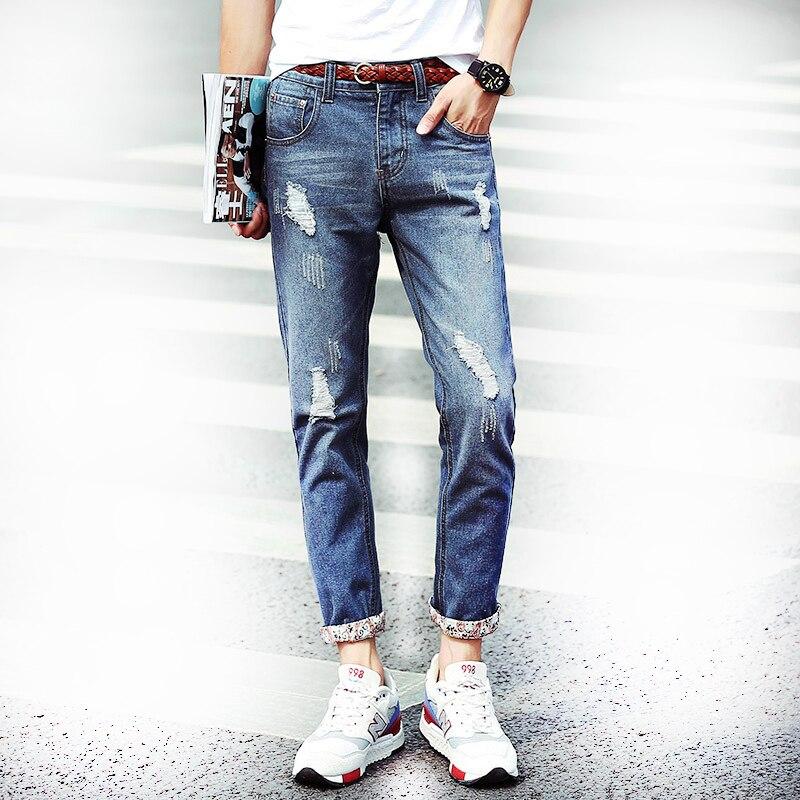 Clearance Cheap Hole Skinny New 9th Pants Skinny font b Jeans b font font b