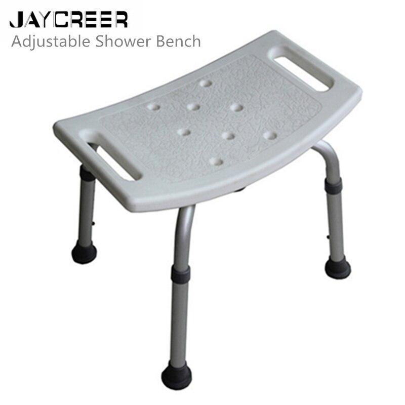 Badehilfen Mobilitätshilfen Jaycreer Einstellbar Bad Und Dusche Stuhl Mit Nicht-slip Sitz,