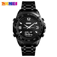 SKMEI 1464 Man Digital Watch Compass Sport Watches Temperature Wristwatch Waterproof Alarm Calorie Calculation Men quartz watch
