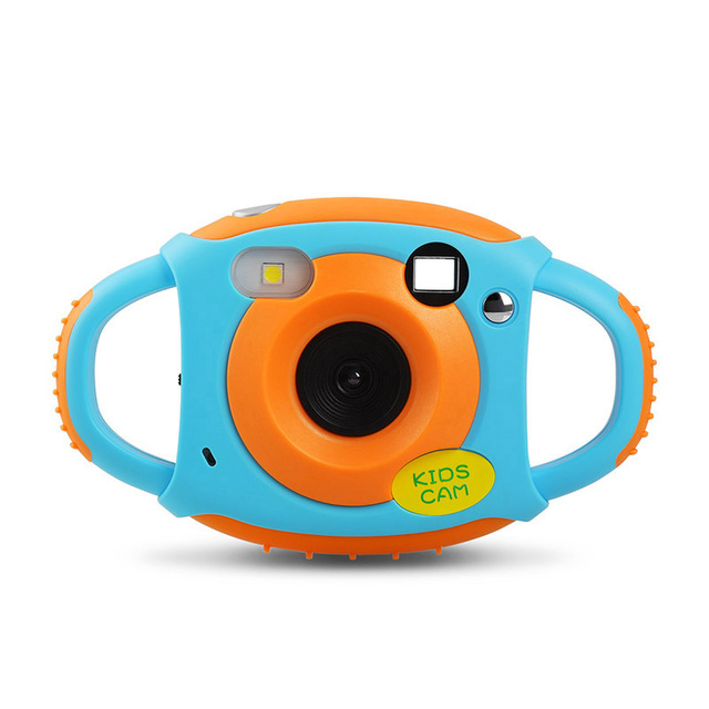 Children's educational toddler toys photo camera kids mini digital camera with neck strap photography gifts camera for children