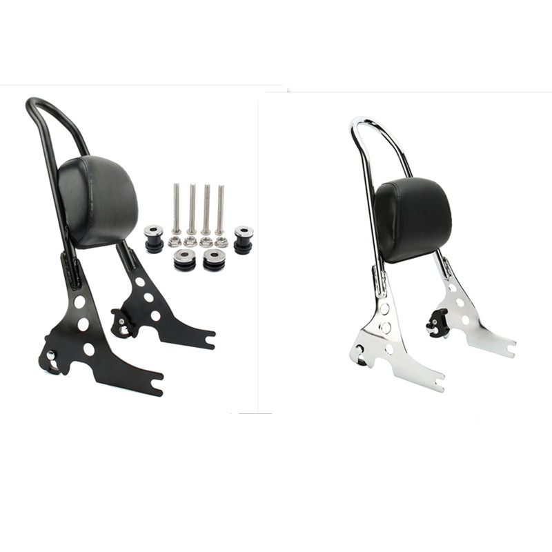 For 2004-later Harley Sportster XL 883 1200 XL883 XL1200/2014-later XL1200T Motorcycle Rear Backrest Sissy Bar Luggage Rack цены
