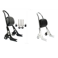 For 2004 later Harley Sportster XL 883 1200 XL883 XL1200/2014 later XL1200T Motorcycle Rear Backrest Sissy Bar Luggage Rack