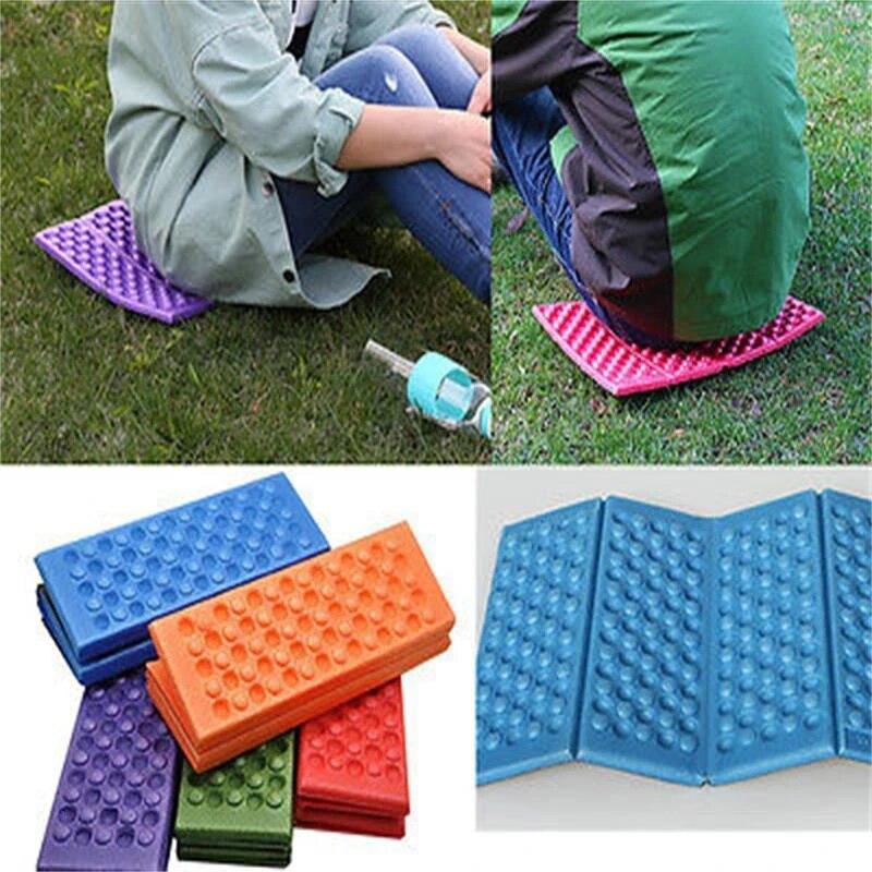 1x Foldable Camping Foam Seat Cushion Sitting Mat Outdoor Hiking Picnic PadBYZPT