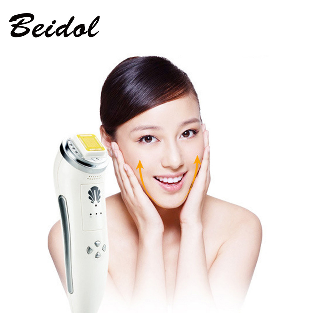 New RF Radio Frequency Skin Face Care Lifting Tightening Wrinkle Removal Facial Physical Massage Machine 100-240V Rechargeable цена