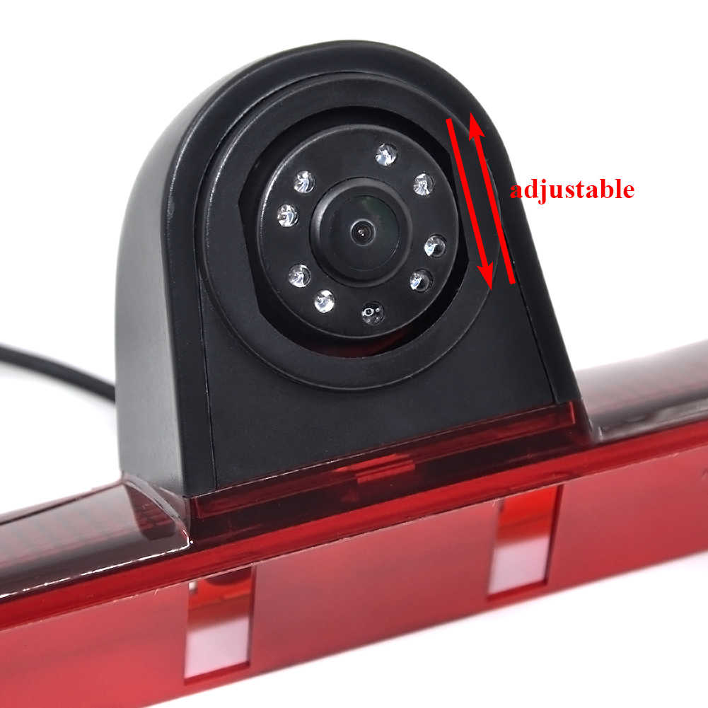 Auto Wayfeng WF Baru CCD Membalikkan Kamera Belakang LED Lampu Rem untuk Mercedes/Sprinter/VW/Crafter