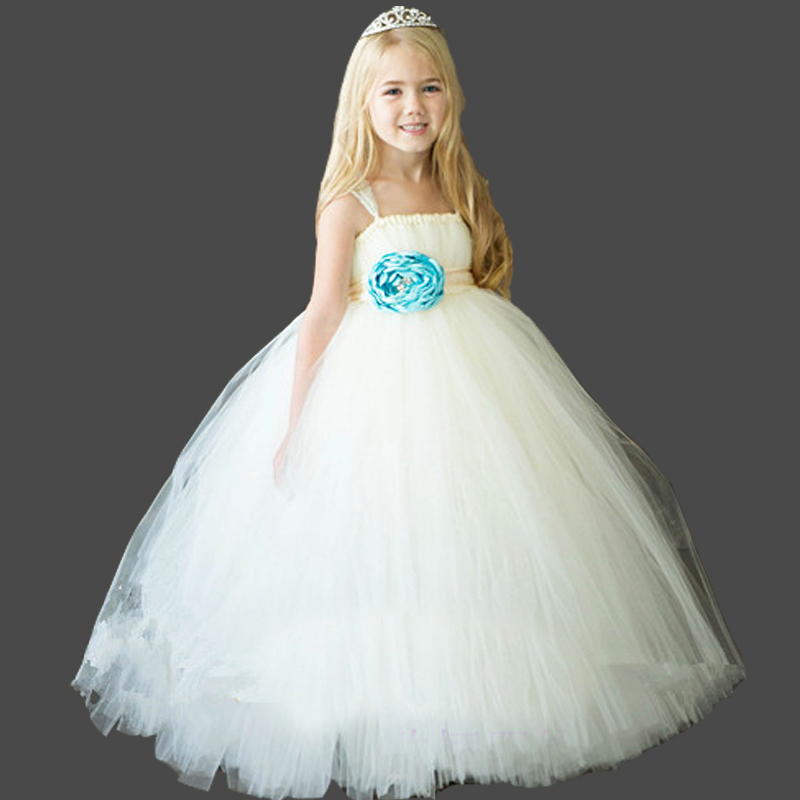 Princess Dress Girl Party Frocks For Kids Toddler Evening