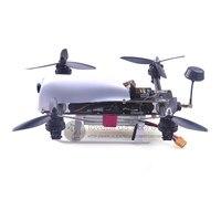 DIY Mini FPV Cross Drone HMF SL300 Vectors Racing Quadcopter Pure Carbon Fiber PCB Frame With