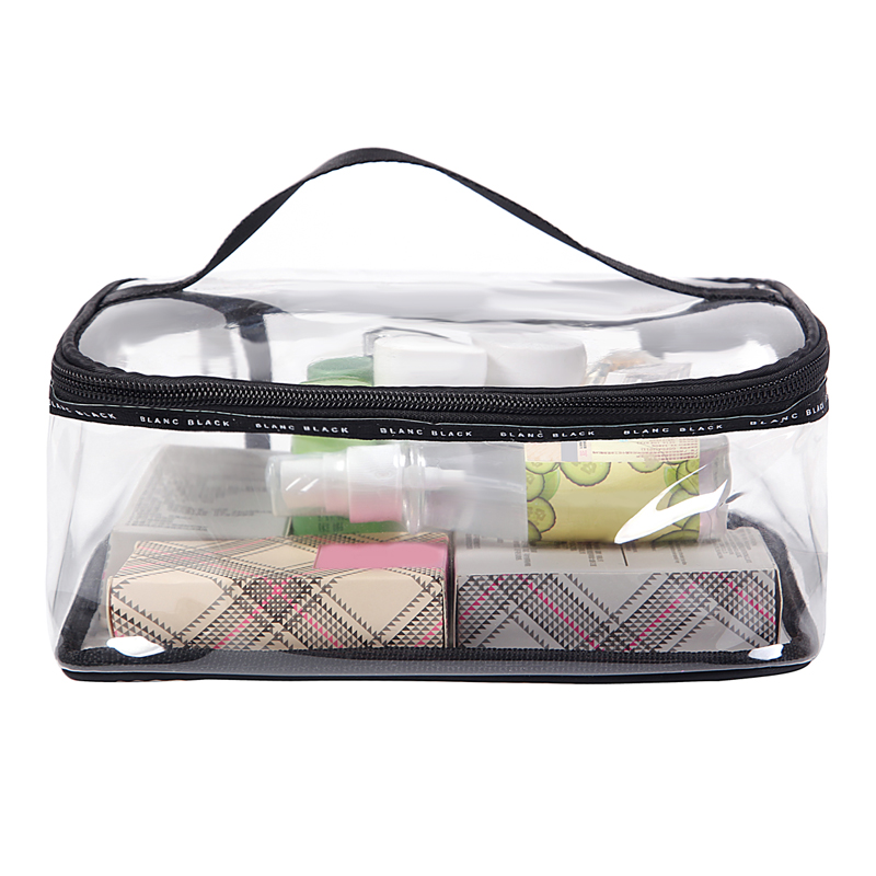 PVC Transparent Cosmetic Bags Women's travel Waterproof Clear Wash Organizer Pouch Beauty Makeup Case Accessories Supplies mihawk color transparent pvc cosmetic bag korean style markup bags travel multifunctional accessories women s wash accessories
