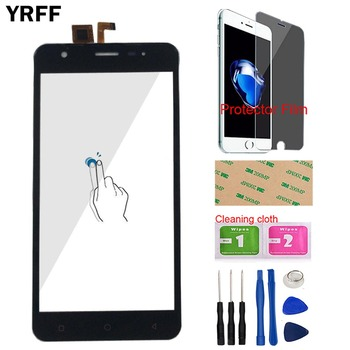 5'' Mobile Touch Screen Panel Sensor For Vertex Impress Eagle 3G Touchscreen Front Glass Digitizer TouchPad Tools Protector Film 5 0 touch screen for vertex impress luck touch screen digitizer panel front glass sensor tools protecotr film adhesive