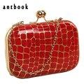 Freeship Новый 2016 камень шаблон модные девушки вечерняя сумочка банкетный мешок сцепления/женщины симпатичные цепь сумка сумка