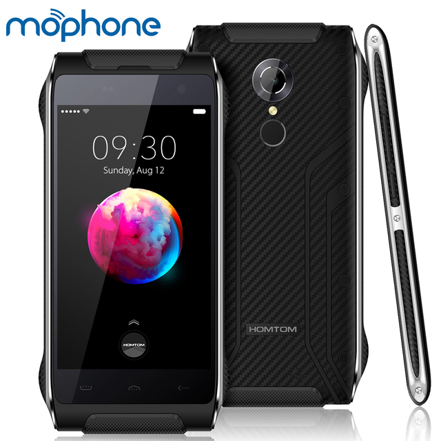 HOMTOM HT20 Pro IP68 Tri Proof Smartphone 4G MTK6753 Octa Core 4.7 Inches 1280*720P 3G+32G 8MP+16MP Camera 3500mAh Mobilephone