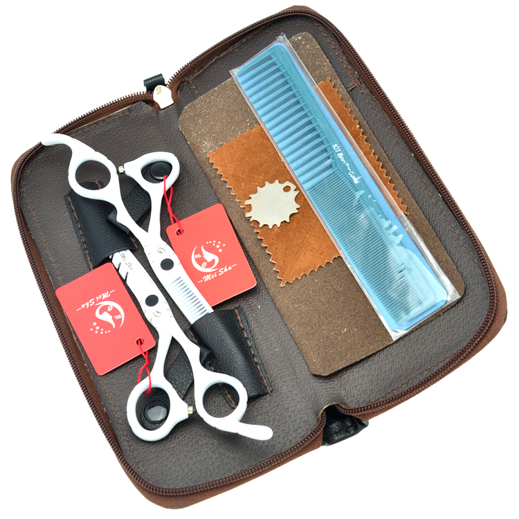 5 5 6 0 Meisha Stainless Steel Hair Salon Cutting Scissors Hairdressing Scissors Kits JP440C Barber