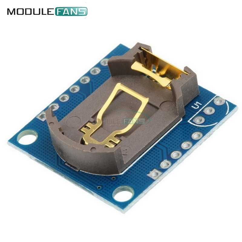 2PCS I2C IIC RTC DS1307 AT24C32 Real Time Clock Module For Arduino 51 AVR  ARM PIC For Arduino UNO R3 Without Battery
