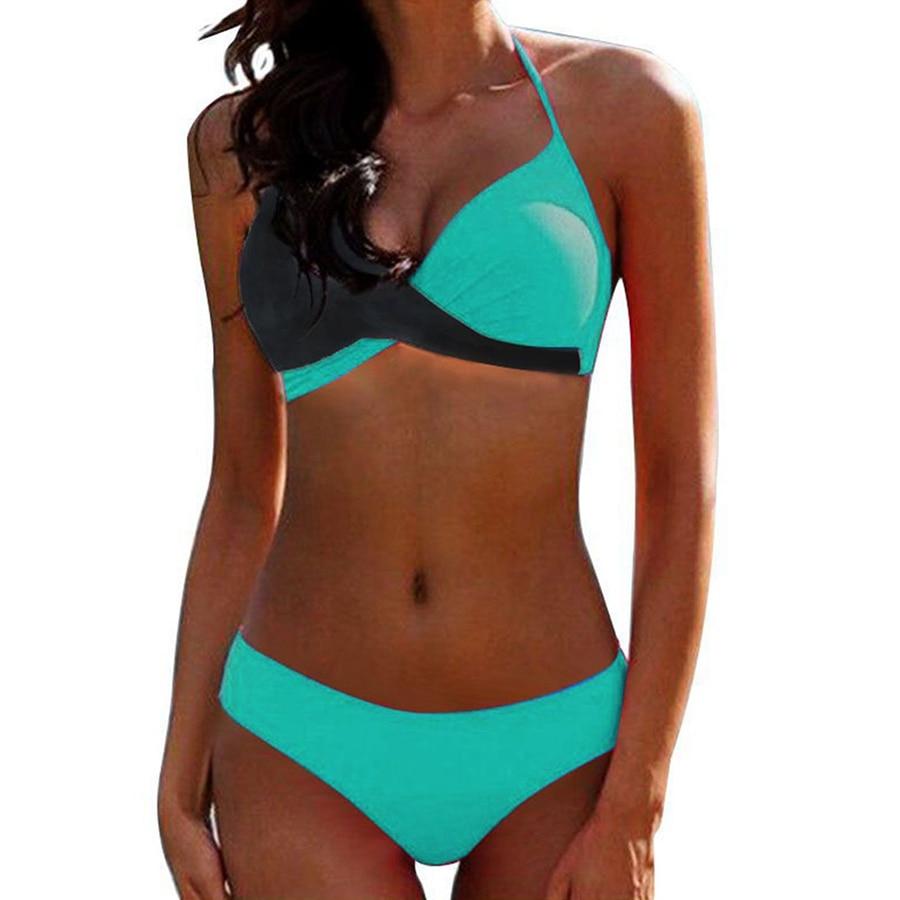HTB1szQ0uRjTBKNjSZFwq6AG4XXar Sexy Bikini Push Up Swimwear Women biquinis feminino 2018 mujer Swimsuit tanga Swimming Bathing Suit Plus Size Bikinis Set XXXL