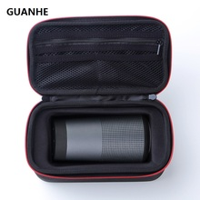 GUANHE Carry Speaker Cover Bag Case For Bose SoundLink Revolve Bluetooth Speaker SSD,HDD-Extra Space for Plug&Cables