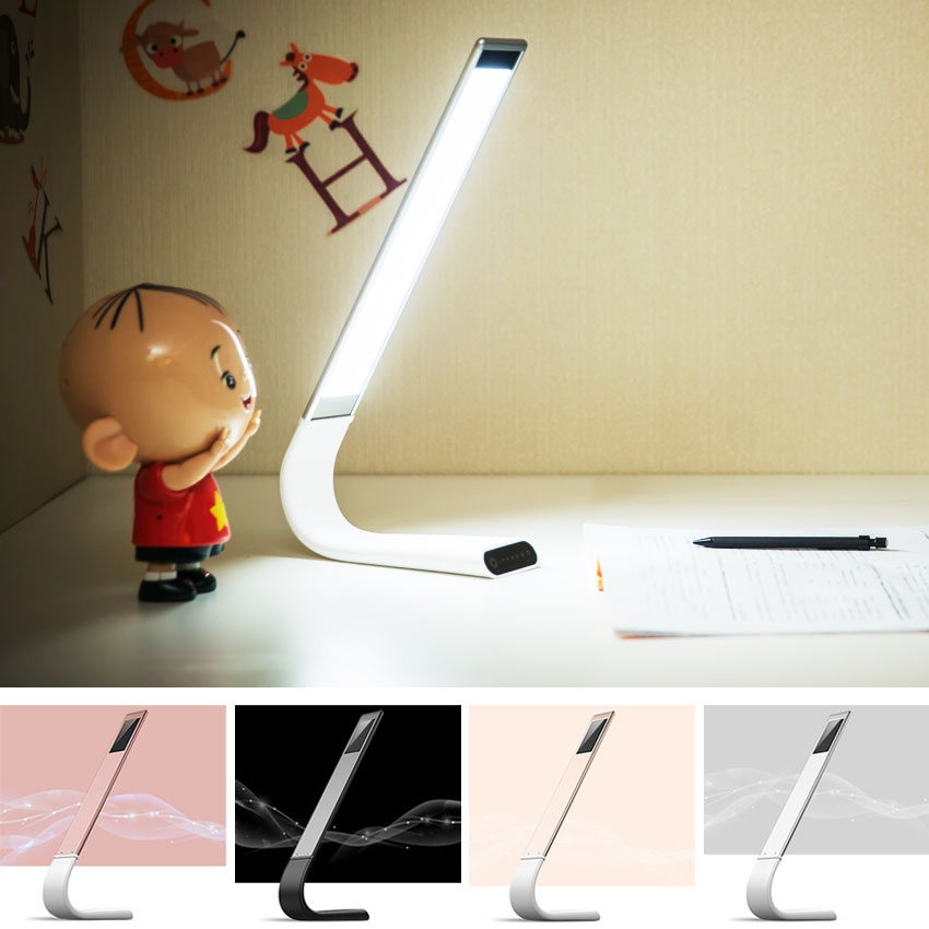 Artwork Exquisite LED Table Lamp Night Reading Lights Rechargeable Foldable High-Tech Eye Protecting Area Lighting Source цена 2017