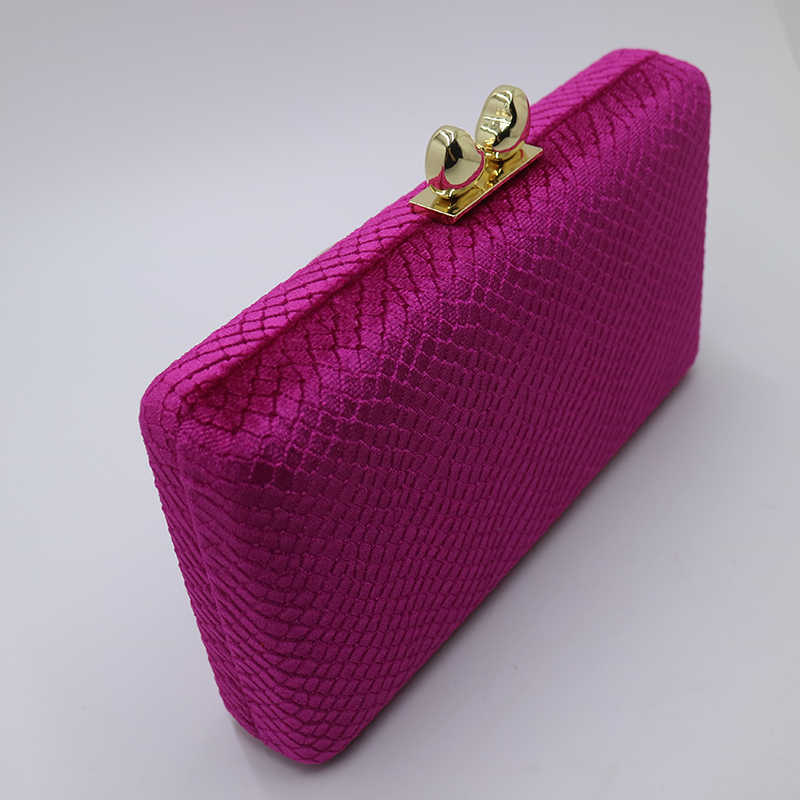 113aa7bcce ... Nuphia Quality Velvet Evening Clutch Bags and Hard Case Box Clutch  Evening Bags and Wallet Handbags ...
