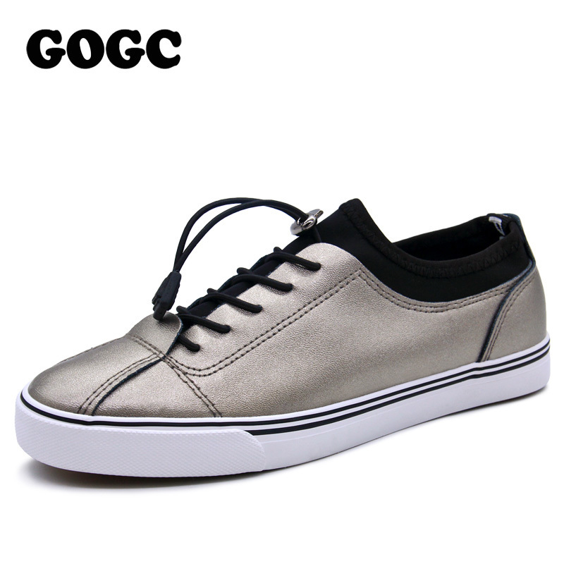 GOGC 2019 Women Flat Shoes Sneakers Breathable Ladies Leather Shoes Autunm Creepers Casual Slip on Women Shoes Slipony Women 928GOGC 2019 Women Flat Shoes Sneakers Breathable Ladies Leather Shoes Autunm Creepers Casual Slip on Women Shoes Slipony Women 928