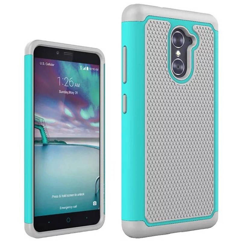 Armor Hybrid TPU Silicone + Hard Phone Case For ZTE Imperial Max Z963U / MAX DUO 4G LTE / ZTE Grand X Max 2 Case Back Cover Bag
