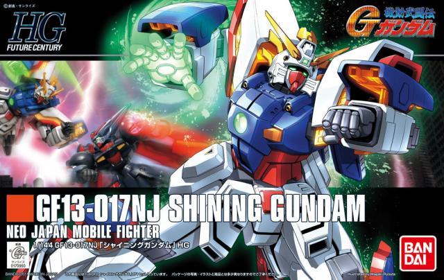 1PCS Bandai 1/144 HGUC HGFC 127 Shining Gundam Mobile Suit Assembly Model Kits lbx toys education toys ohs bandai mg 179 1 100 sengoku astray gundam mobile suit assembly model kits