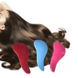 1 pcs Escova de Cabelo Mágico Detangling Handle Mostrar Er Anti-Estático Comb Styling Salon Tamer Ferramenta Massageador para As Mulheres desembaraçar Escova