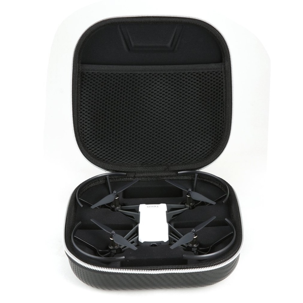 Portable PU Leather Storage Case Bag Protective Case Travel Carrying Case for DJI Tello font b