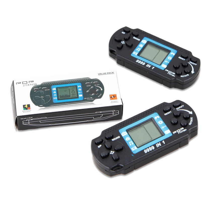 Tamagoch IElectronic Toys  PSP Game Machine Classic Nostalgic Children's Tetris Game Machine Electronic Game Machine Toy