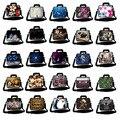 Multi Laptop Shoulder Bags Notebook Sleeve Case Messenger Carry Bag For macbook PC 9.7 10 13 13.3 15 15.6 17 17.3 inch Laptop