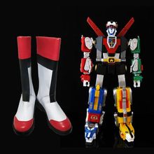 Voltron:Legendary Defender Keith Akira Kogane shoes Cosplay 2019 Ladies fashion leisure cartoon PU leather japanese school shoes(China)