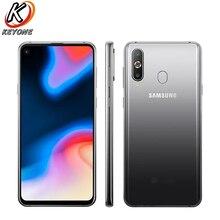 Новый samsung Galaxy A8s SM-G8870 мобильный телефон 6,4 «6 ГБ Оперативная память 128 GB Встроенная память Snapdragon 710 сзади Камера 24.0MP + 5.0MP + 10.0MP NFC Dual SIM