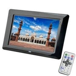 7 Inch LED Backlight High-Definition 800 x 480 Digital Photo Frame Electronic Album Picture Music Video Porta Retrato Digital