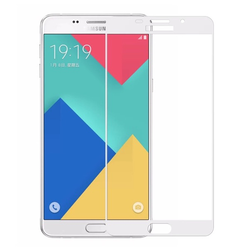 2 5D 0 26mm 9H hardness glass film For Samsung Galaxy A3 A5 A7 2016 Glass Tempered Full Cover Case Screen Protector A310 510 710 in Phone Screen Protectors from Cellphones Telecommunications