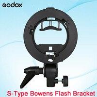 New Godox S Type Bracket Bowens S Mount Holder For Speedlite Flash Snoot Professional Softbox Reflector