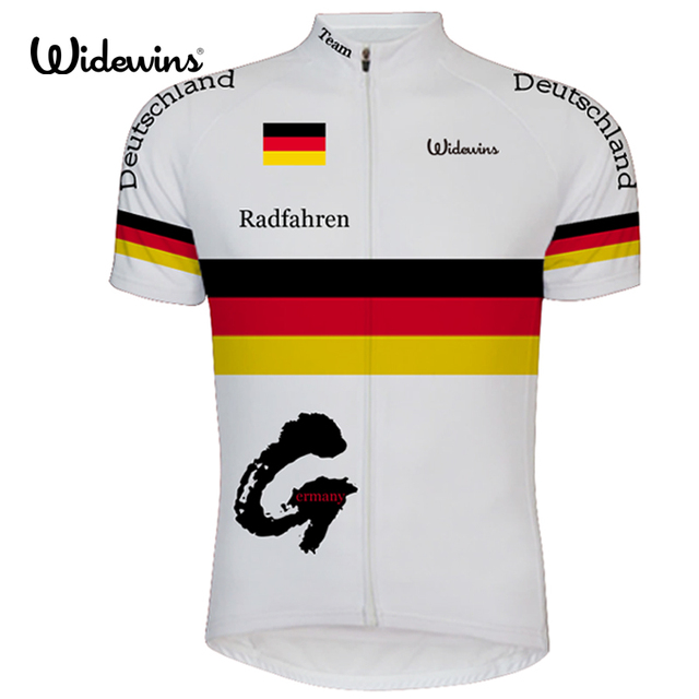 3c06b6e4e widewins professional bike clothing Tour of Germany cycling Jerseys 2017  Radfahren short sleeve national flag bicycle clothes 65