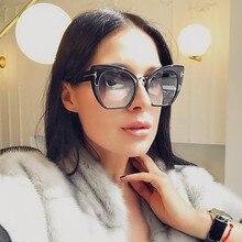 Juanbo Óculos Новинка 2017 года кошачий глаз солнцезащитные очки женщин Брендовая Дизайнерская обувь Модные Винтажные Солнцезащитные очки Cateye Солнцезащитные очки для женщин UV400