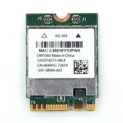 لاسلكي متعدد الموجات DW1560 WIFI بطاقة من Broadcom BCM94352Z بلوتوث 4.0 لاسلكية شبكة NGFF 802.11AC Wlan محول ل Hackintosh