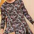 Long johns establece 2016 v cuello de los hombres de impresión de la moda de invierno térmica underwear pijamas del hogar cintura baja térmica cotton underwear set