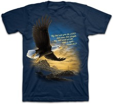 Christian T-Shirt  Isiah 40:31