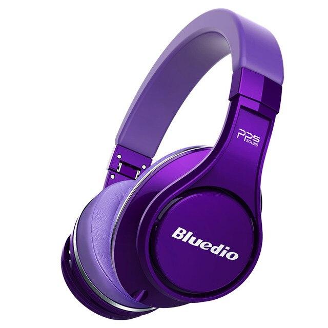 Bluedio U (OVNI) auriculares de alta gama auriculares inalámbricos bluetooth con micrófono sonido 3D/auriculares de alta fidelidad