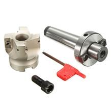 Haute Qualité MK3-FMB22-M12 22mm Tige Poignée + BAP 400R-50-22-4F CNC Mill Visage Fraise + T15 Clé