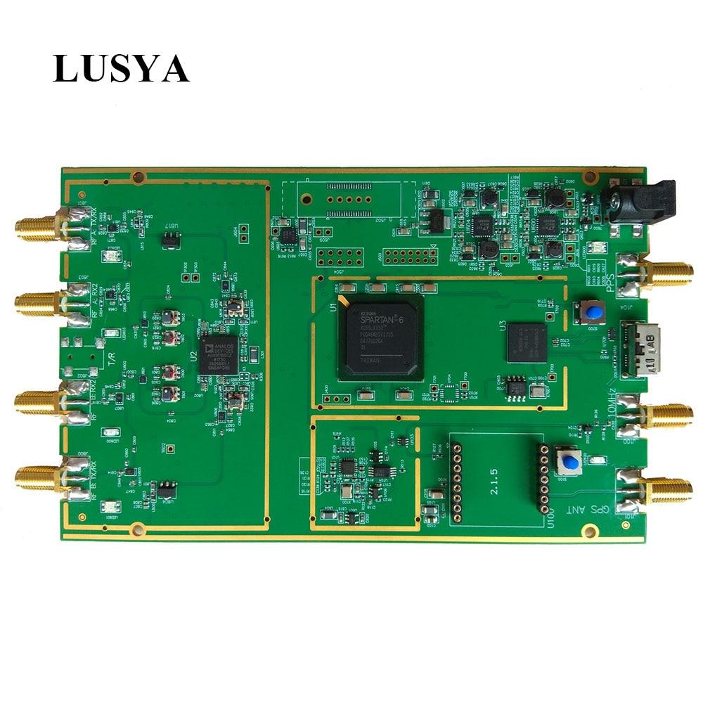 LUSYA AD9361 RF 70MHz -6GHz SDR Software Defined Radio USB3.0 Compatible With ETTUS USRP B210 Full Duplex SDR T0035