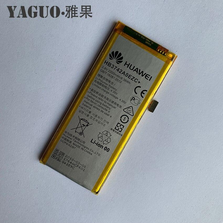 US $9.3 6% OFF Dla Huawei P8 Lite bateria 2200mAh HB3742A0EZC + 100% oryginalny nowy wymiana baterii akumulatory dla Huawei P8 Lite w