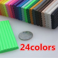 wholesale 24PC/lot ,modeling clay ,clay ,polyclay,magnetic putty pasta polimerica fimo effect CERNIT CLAY,pardo clay