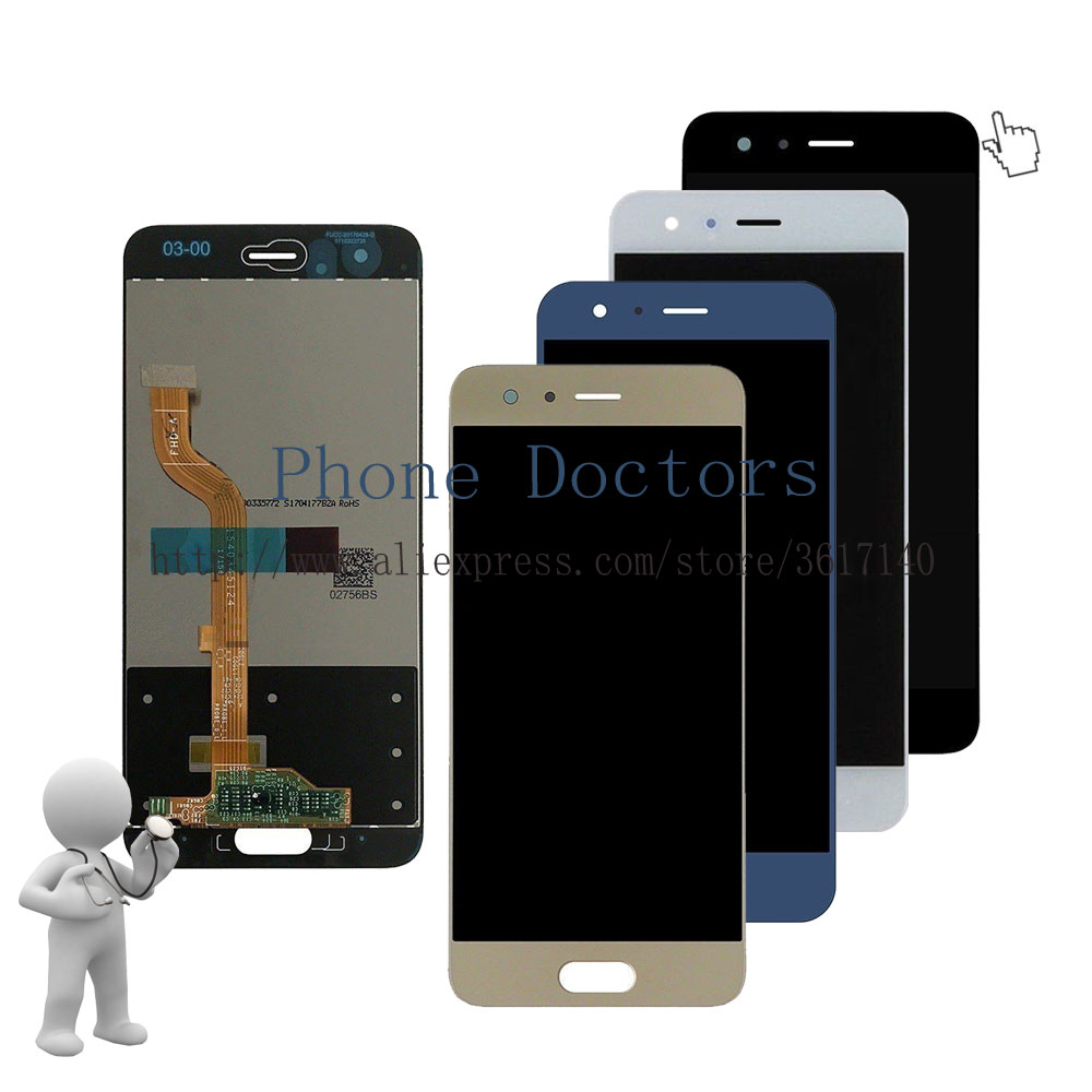 5.15'' Full LCD DIsplay + Touch Screen Digitizer Assembly For Huawei Honor 9 STF-L09 / STF-AL10 / STF-AL00 ; New ; 100% Tested