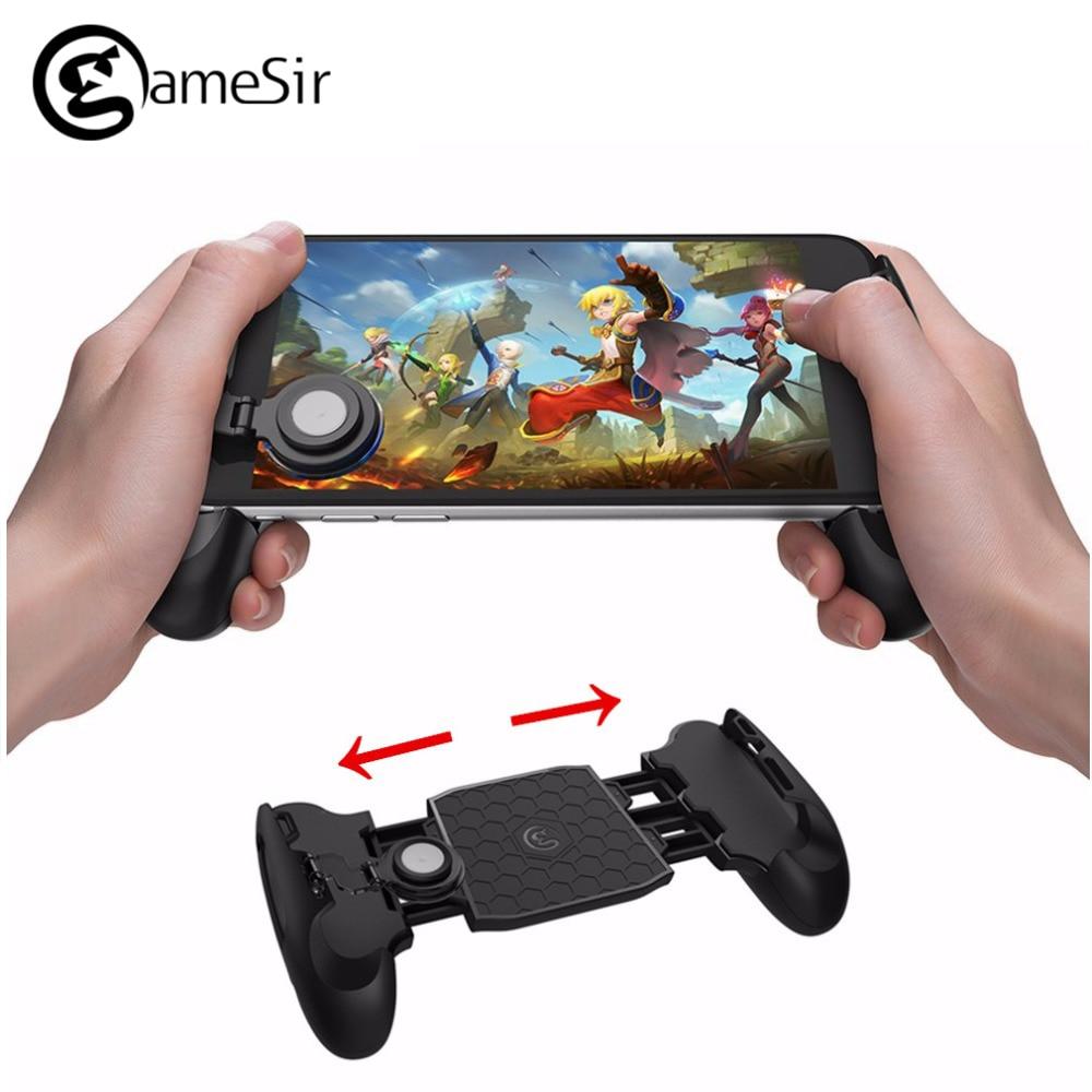 Chaude Gamesir F1 Gamepad Joystick Grip Poignée Prolongée Jeu Contrôleur Ultra-Portable Cinq-Angle pour Tous Android et iOS Smartphones