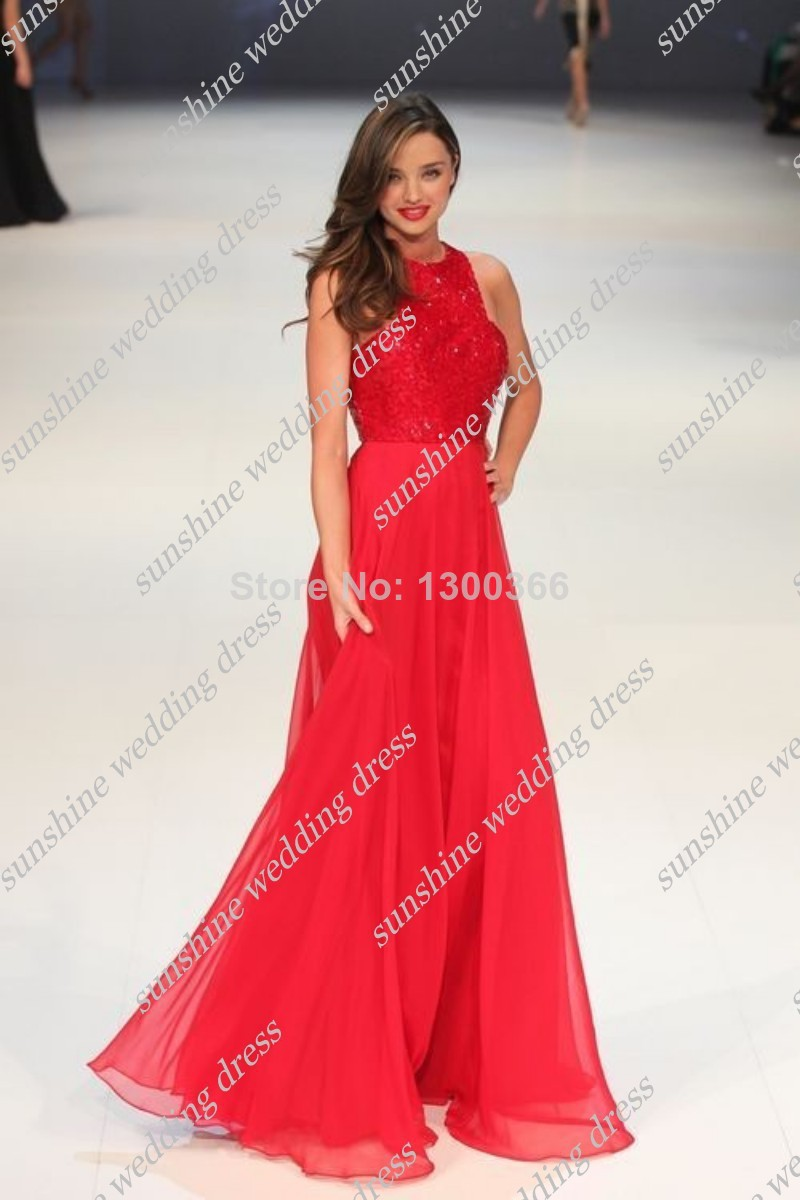 70c79a54f Miranda Kerr Red Sequined Top Chiffon Celebrity Dress David Jones  Spring Summer 2011 Chiffon Long Evenng Party Gown-in Celebrity-Inspired  Dresses from ...