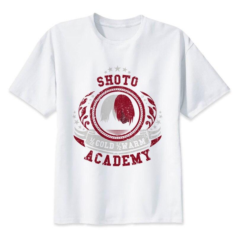 New Arrival My Hero Academia T Shirts Man Short Sleeve Clothing Boku No Hero Academia Funny Cartoon Print T-shirt For Man/woman 13