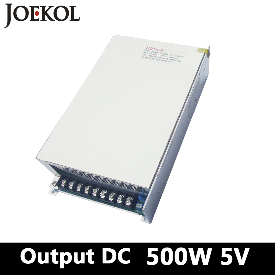 Switching Power Supply 500W 5v 70A,Single Output AC DC Converter For Led Strip,AC110V/220V Transformer To DC 5V,led Driver 25w 5v lp 25 5 4a ce mini size switching power supply transformer 110v 220v ac to dc 5v output for led strip light cctv