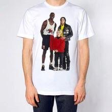 1af9c8ac6b demlfen Micheal Jordan Michael Jackson Macaulay Culkin T Shirt Hype 100%  Cotton Print